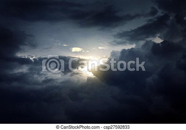 cloudscape, драматичный - csp27592833
