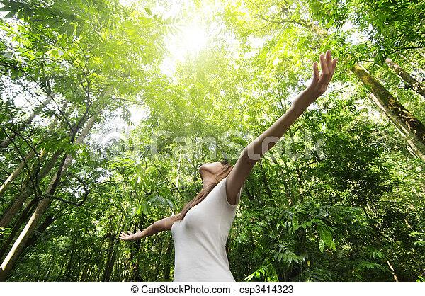 enjoying, природа - csp3414323