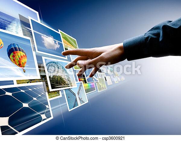 images, choosing, поток - csp3600921