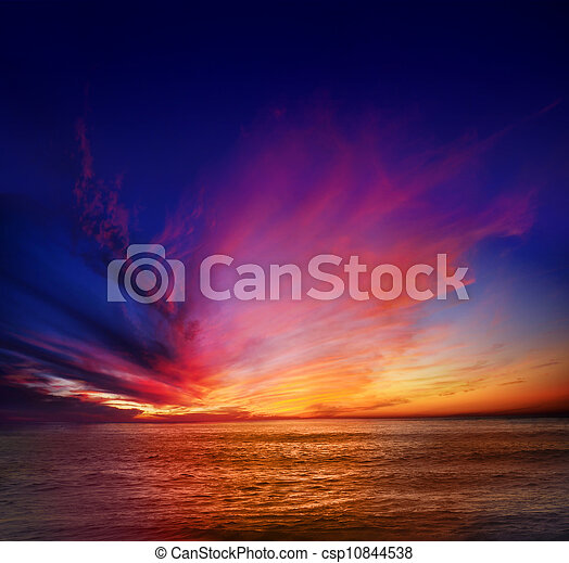loma, закат солнца, точка - csp10844538