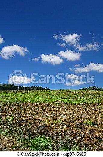 ploughed, выгон - csp0745305