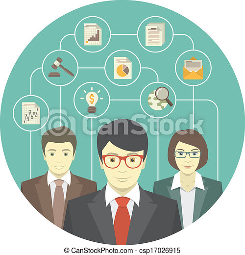 professionals, командная работа - csp17026915