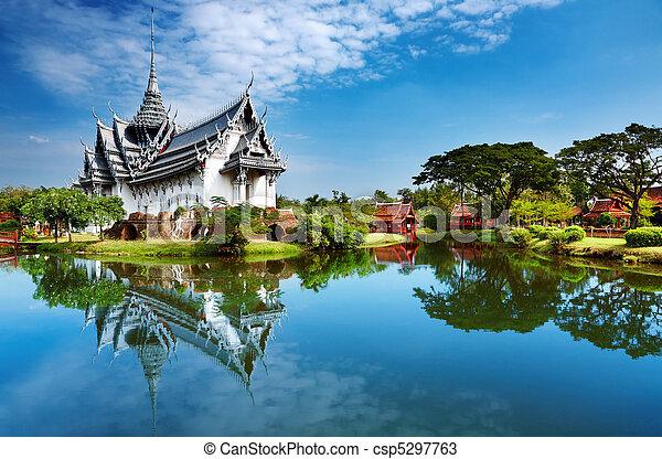 sanphet, дворец, prasat, таиланд - csp5297763