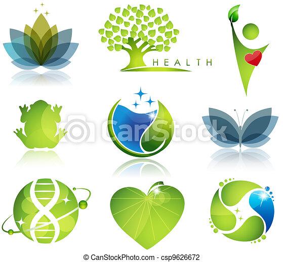 symbols, health-care, экология - csp9626672