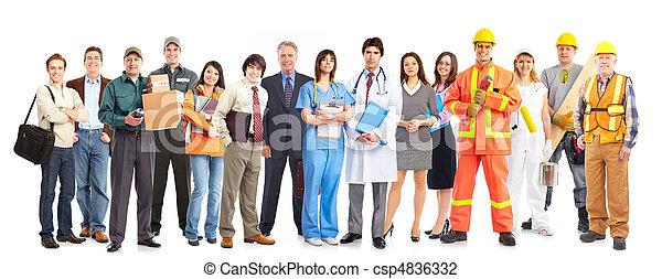 workers, люди - csp4836332