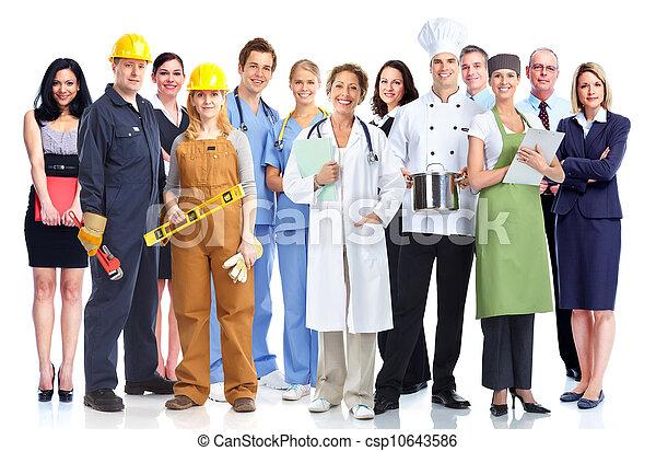 workers., промышленные, группа - csp10643586